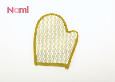 Homeware Cotton Bath Mitt Lightweight For Spa Room 21.5 * 11cm Size