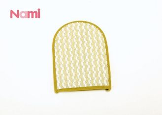Hemp Material Shower Scrub Glove Customized Size For Dead Skin Removal
