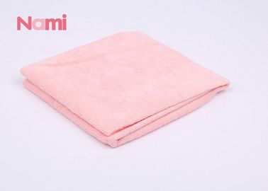 Super Absorbent Microfiber Towel Wrap , Cotton Towelling Hair Wrap Eco - Friendly