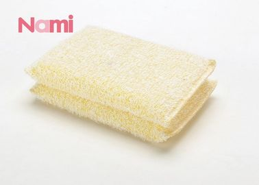 Multifunctional Cleaning Scouring Pads White Color Customized Unit Sizes