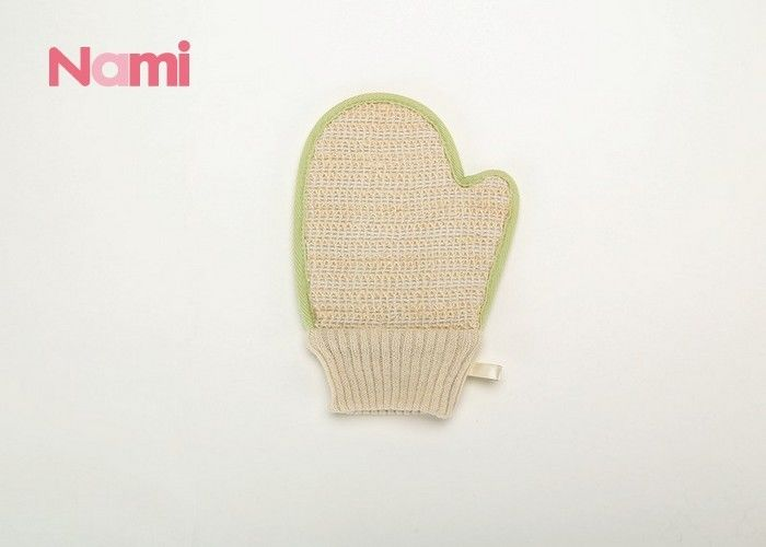 Common Shape Hemp Body Mitt , Exfoliating Bath Mitt  Eco - Friendly