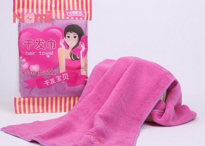 Comfortable Turbie Twist Hair Towel , Azo - Free Microfiber Hair Towel Wrap