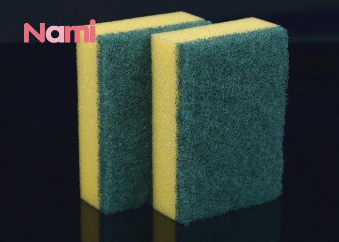 Non Scratch Scouring Magic Sponge Cleaning Pad Dish Mesh Wash Scrubber Eco - Friendly