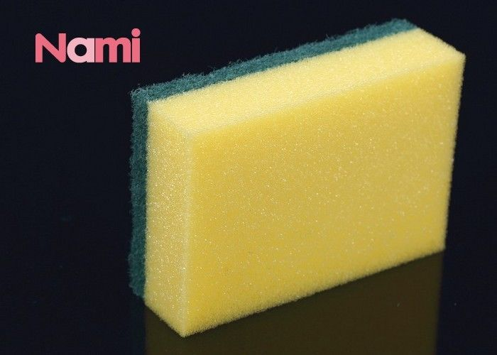 Polyester / Polyamide Magic Clean Eraser Household Items Disposable Kitchen Sponge