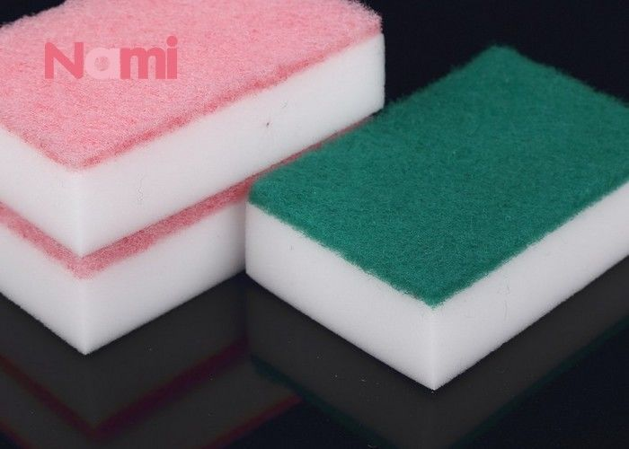 Square Magic Eraser Kitchen Scrubber Dishwashing Pads Glass Cleaning Sponge