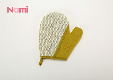 China Natural Sisal Hemp Bath Mitt Simple Design Customized Logo Eco - Friendly factory