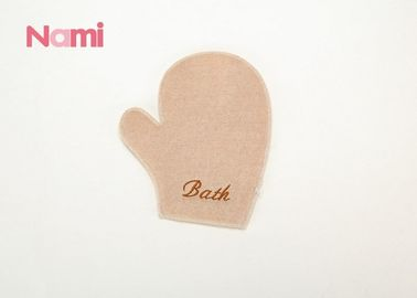 China Natural Linen / Sisal Bath Mitt , Wash Mitt For Bathing SGS Certification factory