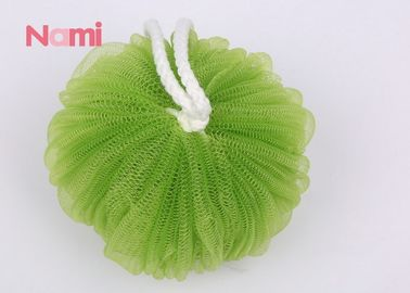 China Loofah Baby Shower Bath Sponge Colorful PE Material With Unique Texture factory
