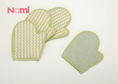 China Eco Friendly Hemp Sisal Bath Mitt Shower Scrub Glove Remove Dead Skin Non - Toxi factory