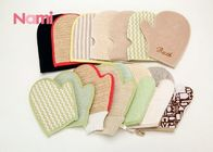 Double Sided Shower Wash Mitt Natural Hemp Material For Dead Skin Removal