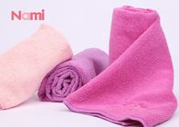 Microfiber Gym Sports Hair Drying Towel Wrap Customized Color 80 * 35CM