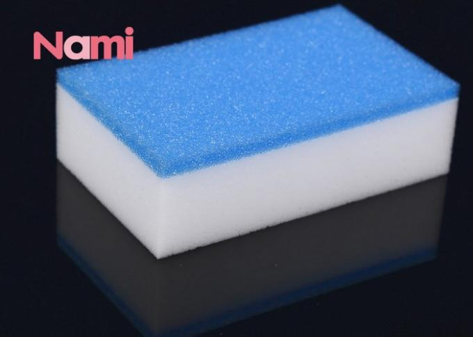 Effective White Magic Eraser Cleaning Pads , Melamine Cleaning Sponge