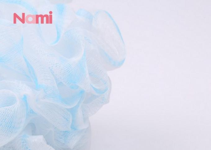 Flower Ball Cute Exfoliating Bath Sponge With Individual Packaging Polybag