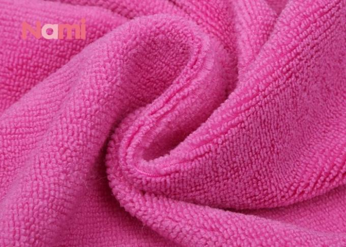 Colorful Coral Fleece Hair Drying Towel Wrap Ultra Soft Easy Cleaning