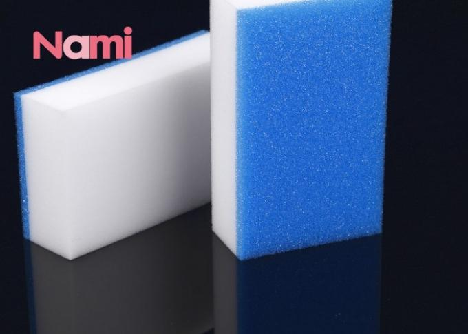 Industrial Magic Sponge Cleaning Pad Polyester / Polyamide Nami Pantone Color